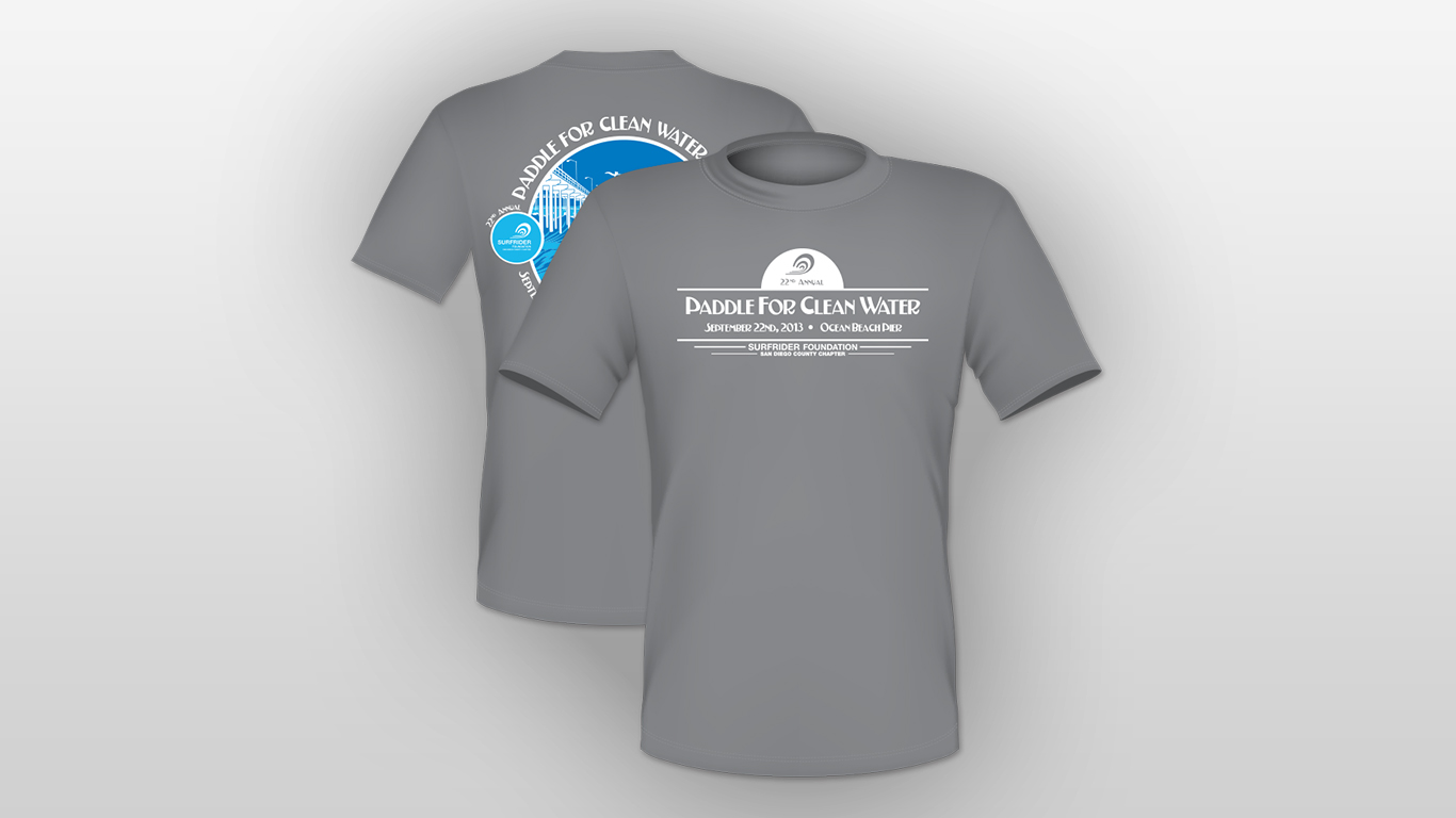 Paddle for Clean Water T-Shirt M