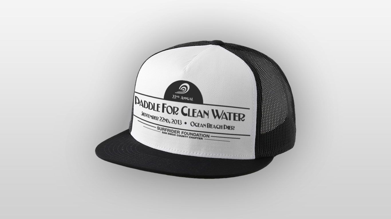 Paddle for Clean Water Hat