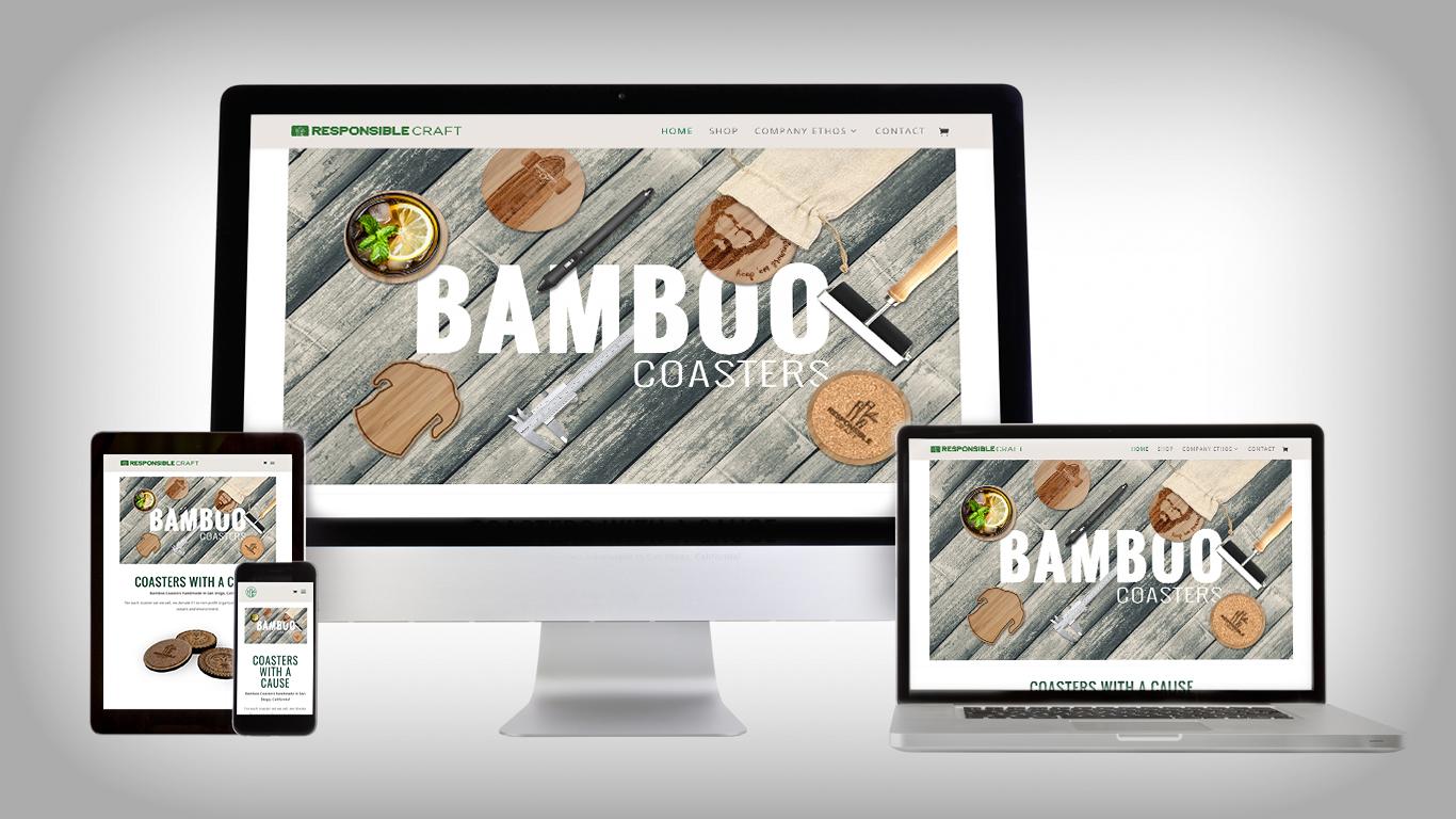 responsible craft website responsive
