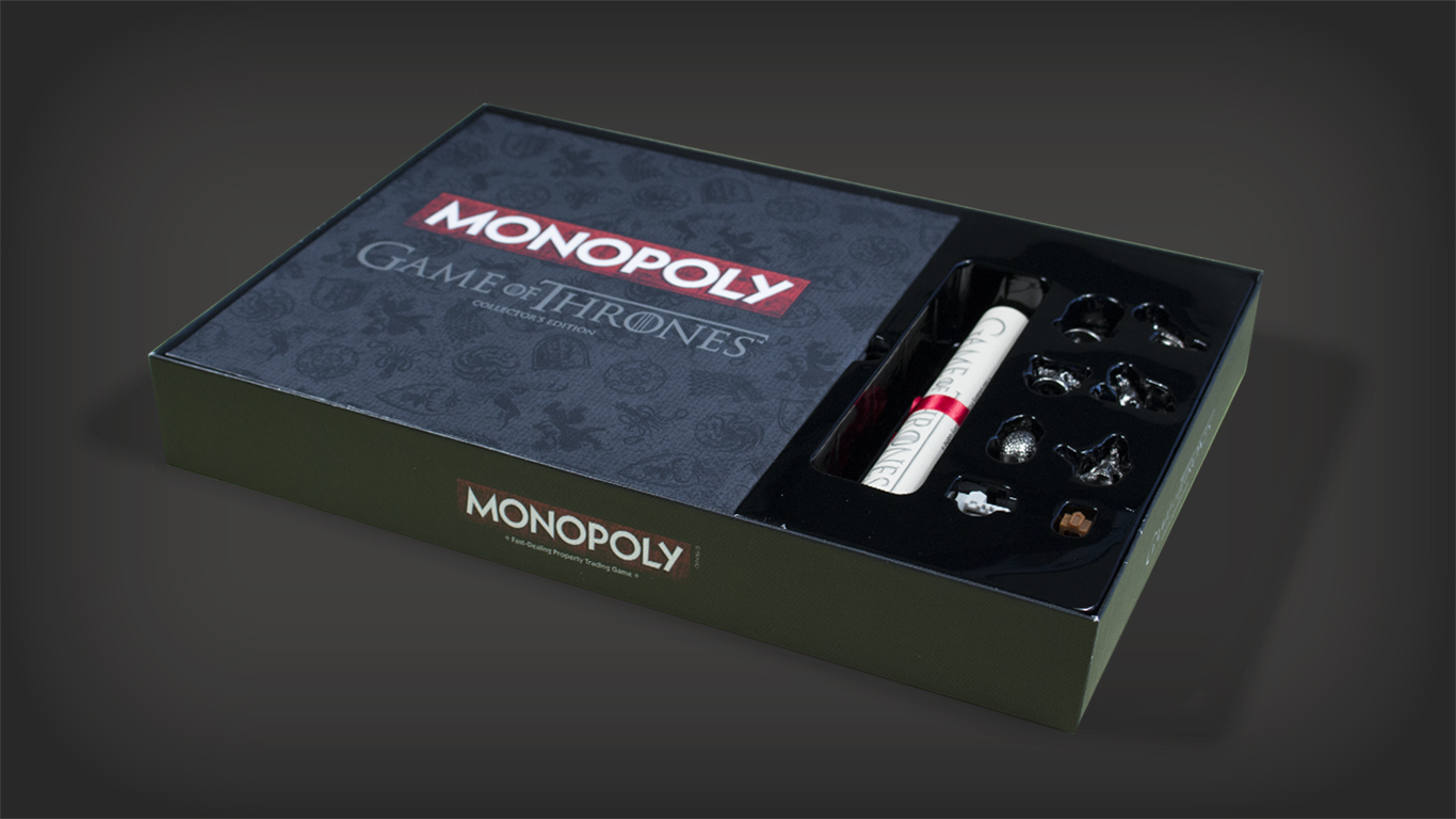 Game of Thrones Monopoly Packaging