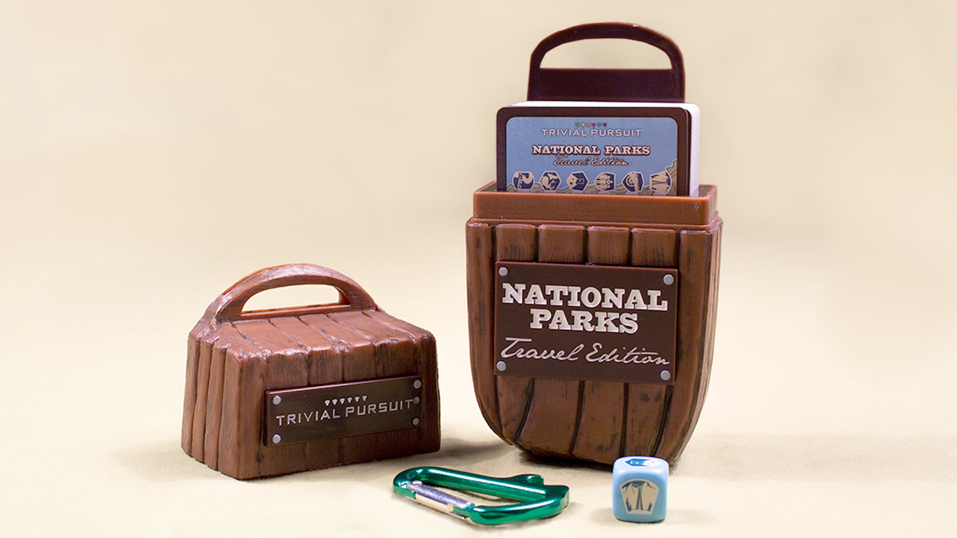 Trivial Pursuit ~ National Parks Packaging