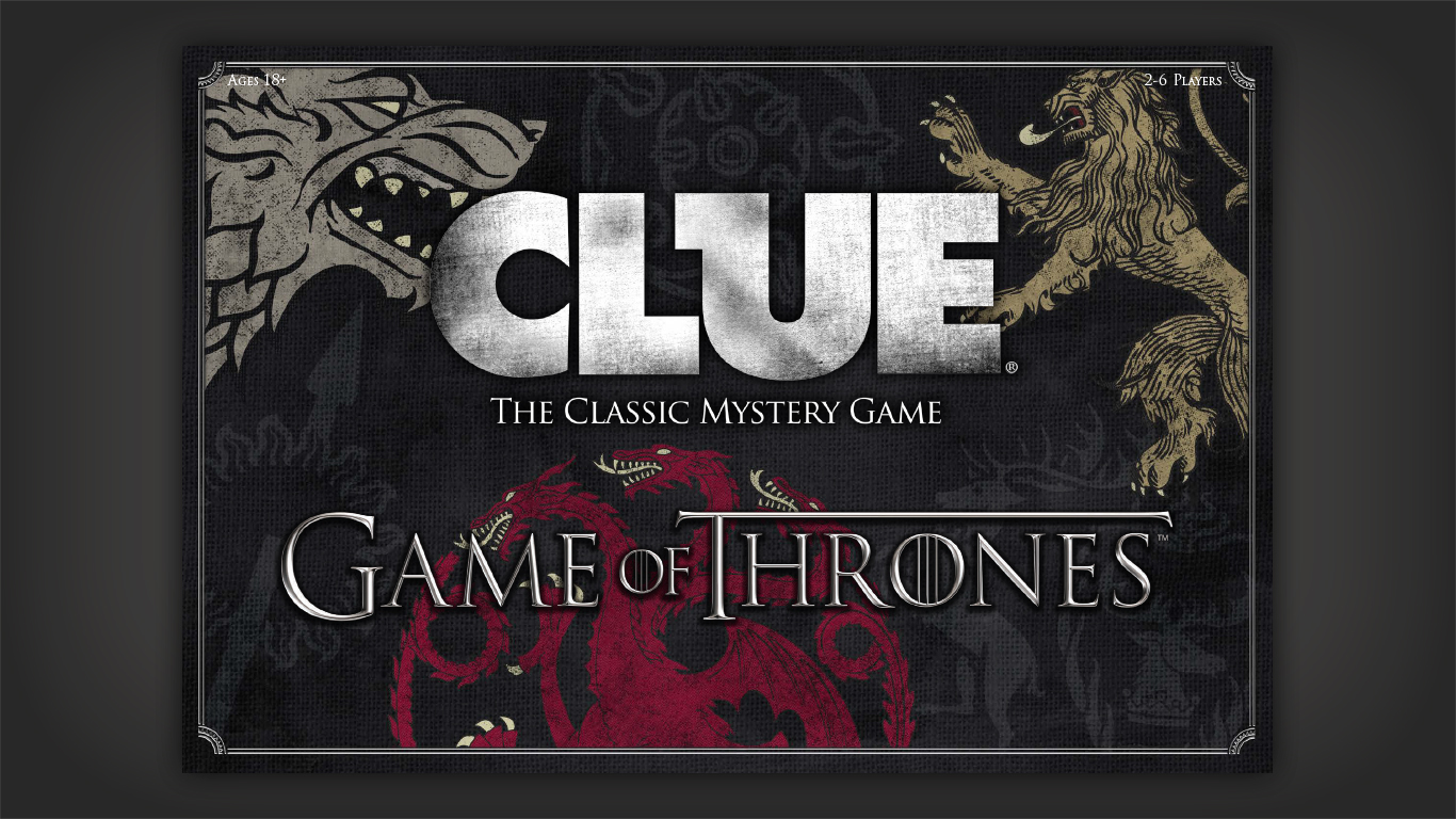 Game of Thrones Clue Box